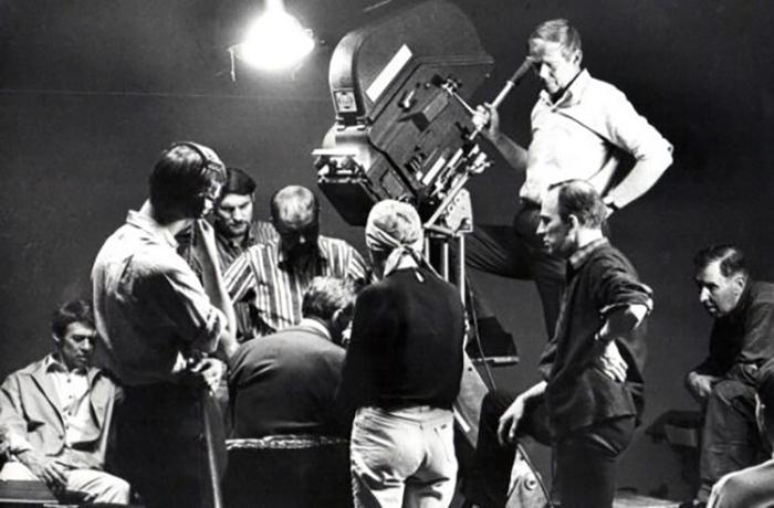 Bergman, inspelning av filmen Riten - Foto: Dick Sundevall