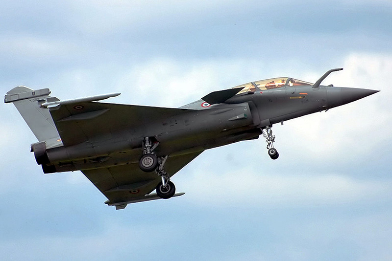 Dassault Rafale B, 2007. Foto: Dmitry A. Mottl-. Licens: Wikimedia, Public Domain