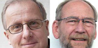 Gunnar Sandelin och Karl-Olov Arnstberg - Pressfoto: AlternaMedia