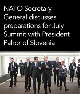 Jens Stoltenberg NATO salesman - Faksimil from NATO sales letter