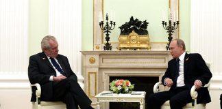 Milos Zeman möter Vladimir Putin - Foto: Kremlin.ru, Wikimedia Commons, CC BY 4.0