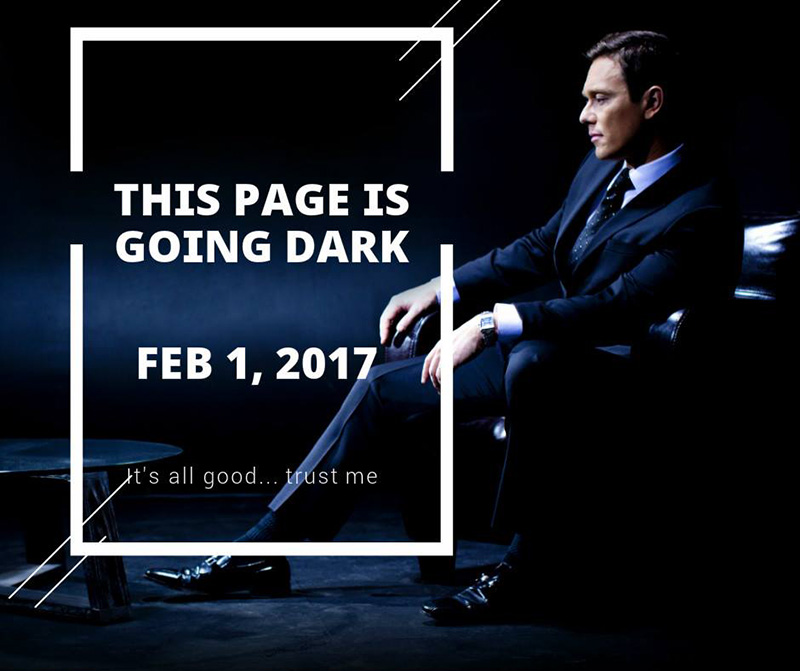 "Ben Swann ""going dark"" - Credit CBS46.com"