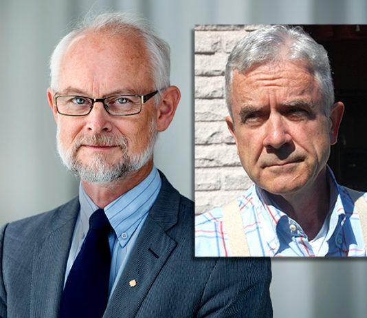 Dan Larhammar och Jan Norberg