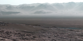 Gale Crater 2018 - Foto: NASA Curiosity