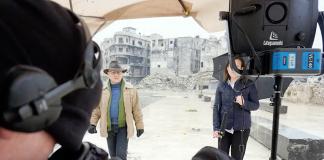 """Issa Touma - Foto från hans dokumentär: """"Greetings From Aleppo"""""""