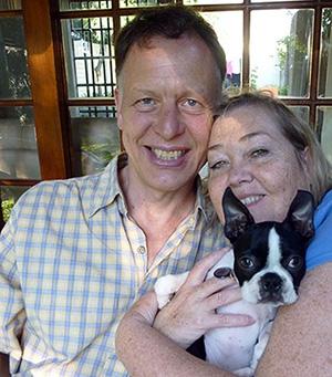 Kent Bengtsson med sin fru, Foto: eget verk
