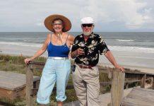 Liz och Peter Bryman - Privat foto