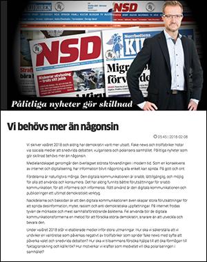 Mats Ehnbom - Skärmdump från NSD