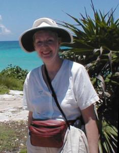 Liz på Yucatan-halvön - Privat foto