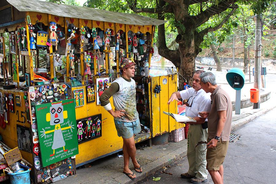 Rio De Janeiro, Santa Teresa Area - Foto: Dany13, CC BY 2.0, Flicker