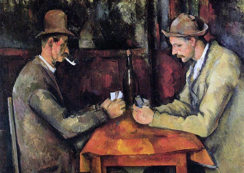 Paul Cézanne: The Card Players 1894-1895 - Foto: Musée d'Orsay, Public Domain