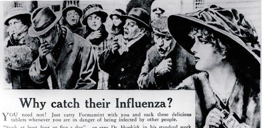 Formamint pill for Spanish flu