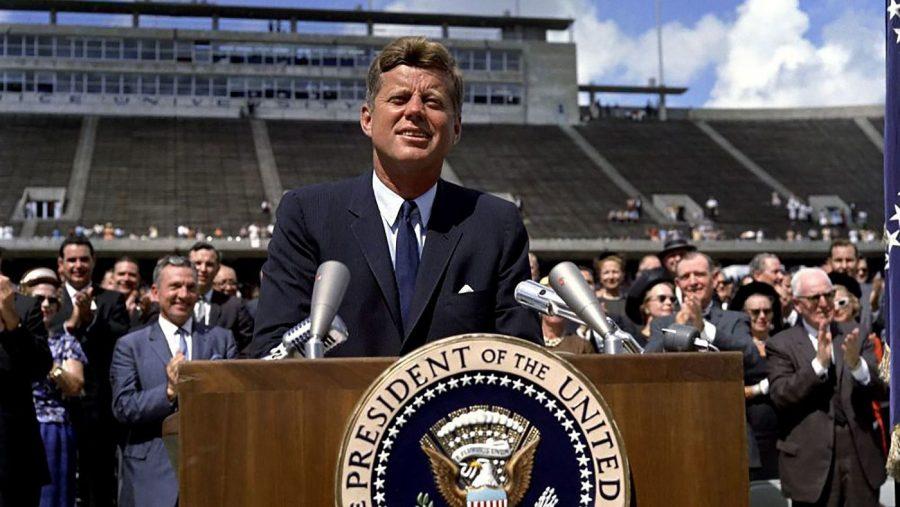 John F Kennedy Dec 12, 1962 - Photo: Robert Knudsen