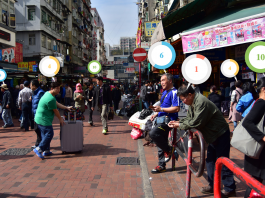 Kweilin Street i HongKong - Photo: Sham Shui Po, Commons, CC BY-NC-SA 2.0