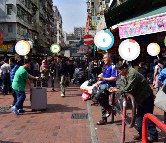 Kweilin Street i HongKong - Photo: Sham Shui Po, Commons, CC BY-NC-SA 2.0