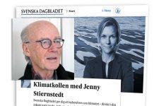 Lars Bern debatterar Jenny Stiernstedt på SvD om Klimatsans