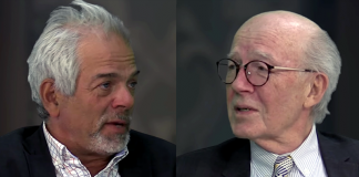 Mikael Wilgert intervjuar Lars Bern mars 2018 - Foto: SwebbTV
