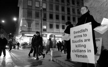 Montage NewsVoice: Swedish Arms in Saudi - Foto: Alisdare Hickson