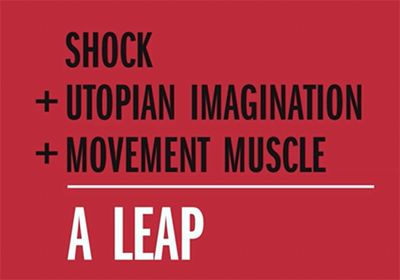 Movement muscle and the leap - Image: Naomi Klein