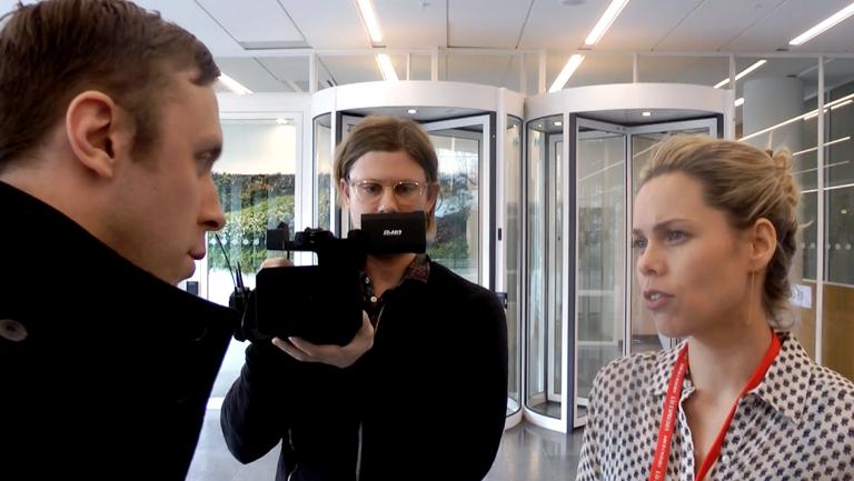 Nya Dagbladet intervjuar Expressen som förhör Nya Dagbladet