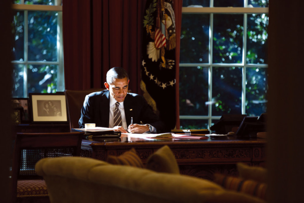 Barack Obama 18 oktober 2013 - Foto: Pete Souza, US Government Works