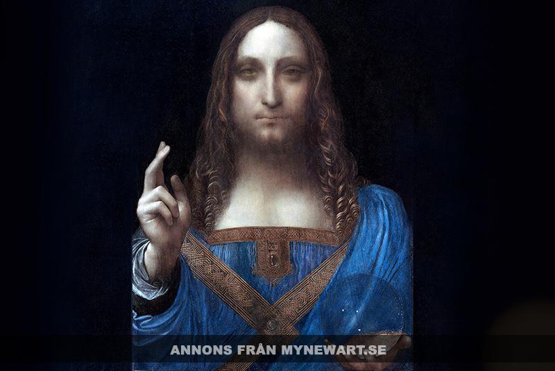 Salvator Mundi av Leonardo Da Vinci - Annons för Mynewart.se