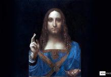 Salvator Mundi av Leonardo Da Vinci - Retouche: NewsVoice.se, Public Domain