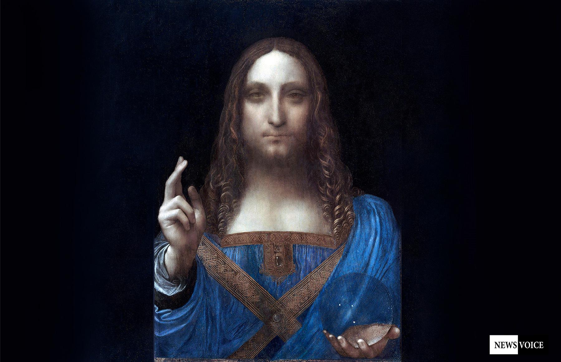 Salvator Mundi - En av världshistoriens högst värderade tavlor ... 6e94887adc217