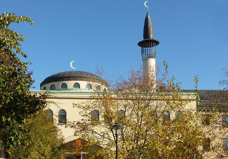 Ingen böneutropning från Stockholms moské enligt undersökning - Foto: Holger Ellgaard, Wikimedia, CC BY-SA 3.0