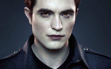 Twilight II från 2012 med en vampyr spelad av skådespelaren Robert Pattinson - Källa: Wallpaperswide.com