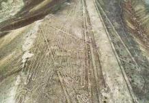 Geoglyfer i Peru, 2018 - Foto: Luis Jaime Castillo Butters