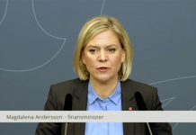 Magdalena Andersson - Pressfoto: Finansdepartementet