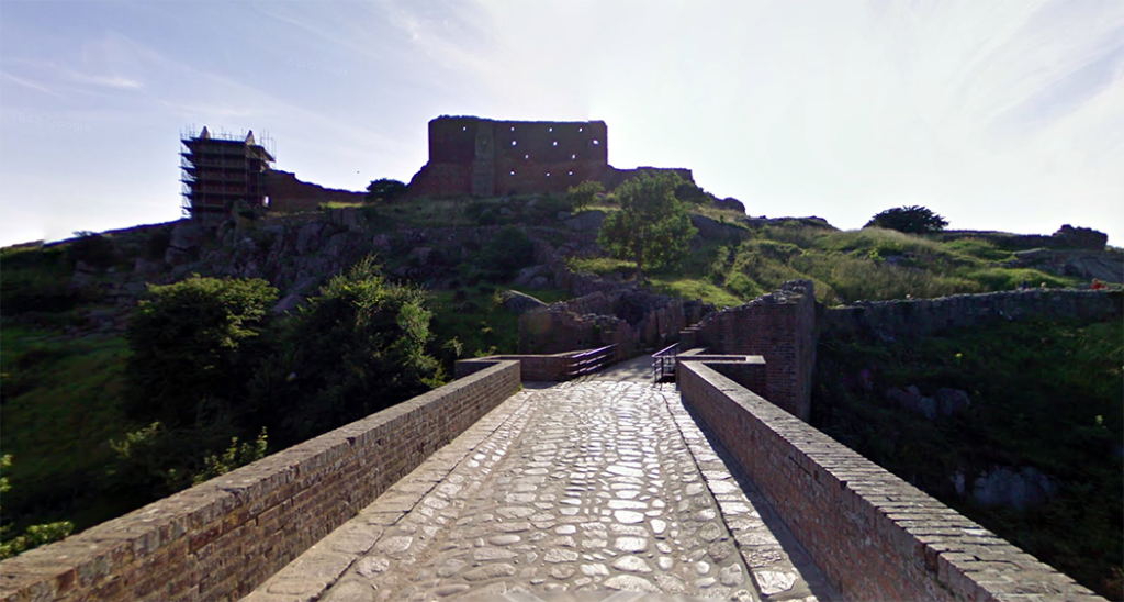 Bornholm, Hammershus borg - Google Maps