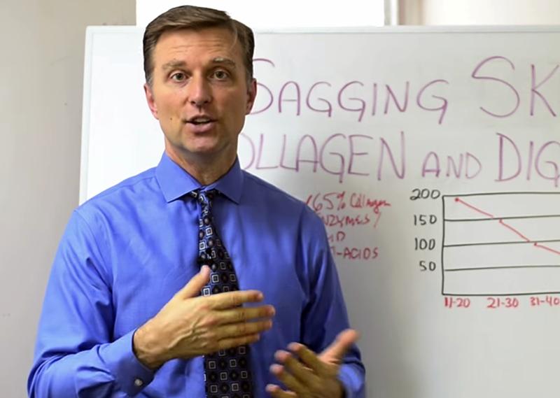 Dr Eric Berg är expert på kollagen. Foto: Dr Eric Bergs Youtube-kanal