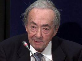 George Steiner, 2013. Foto: TheNexusInstitute, Wikimedia Commons, CC BY 3.0
