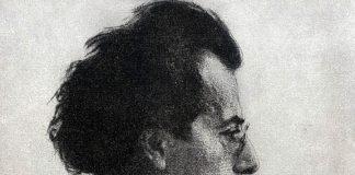 Gustav Mahler - Etsning: Emil Orlik, 1902, Wikimedia Commons, Public Domain