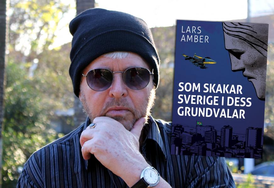 Lars Amber, författare - Pressfoto