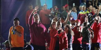 Maduro vann valet 2018 i Venezuela - Okänd fotograf