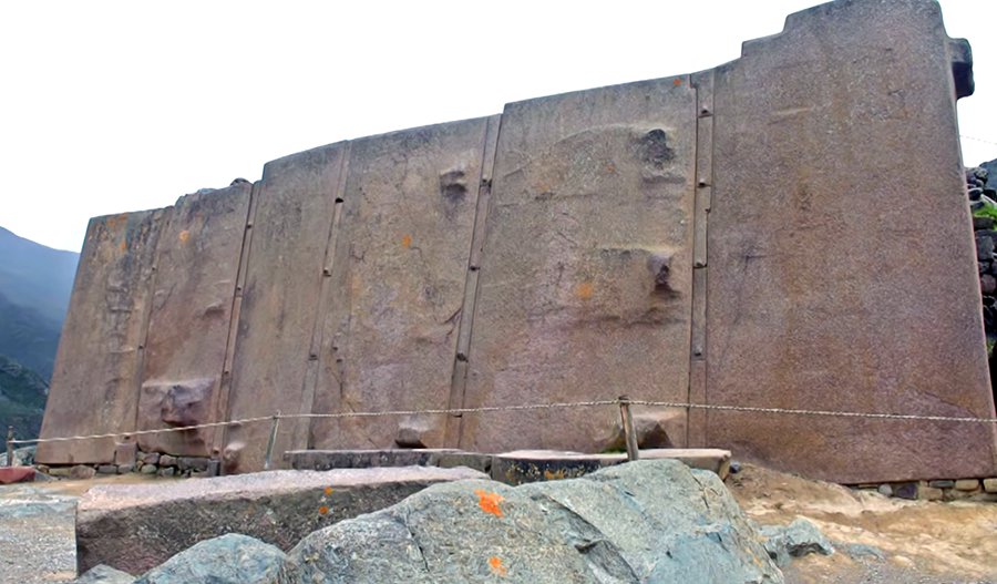 Ollantaytambo Megalith Sun Temple - Foto: Phenomenal Travel Videos