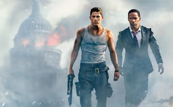 "Filmen ""White House down"" - Movie wallpaper"
