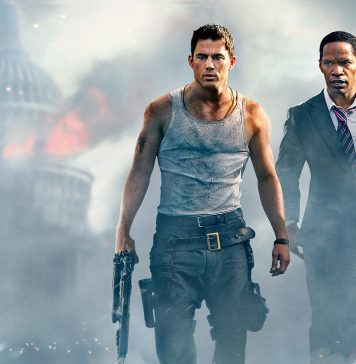 "Filmen ""White House down"" - Movie wallpaper"