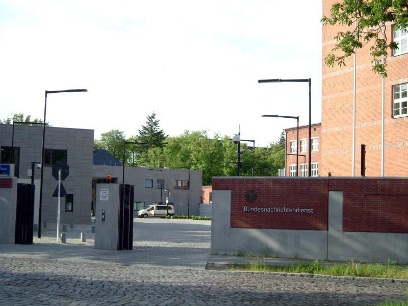 BND:s huvudkontor i Berlin. Lichterfelde. Foto: A.fiedler, Wikimedia Commons, CC BY-SA 2.5