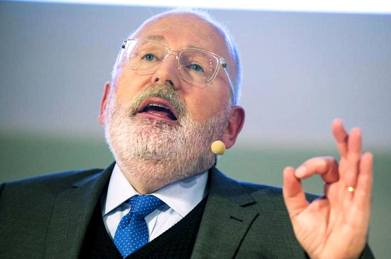 EU-kommissionär Frans Timmermans