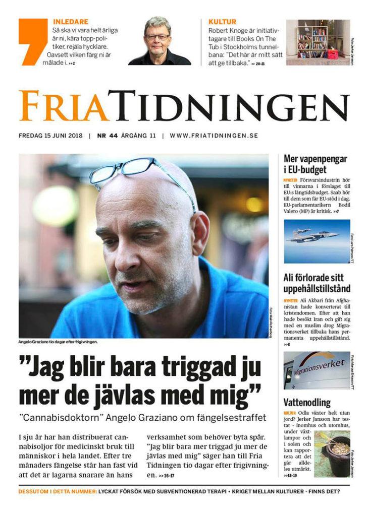 Fria Tidningen, nystart 2018