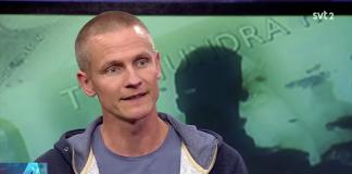 Joakim Ruist - Skärmdump från SVT Agenda