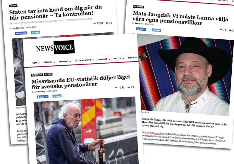 NewsVoice om din pension i Sverige - Du riskerar att bli en uteliggande fattigpensionär