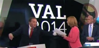 Partiledardebatt 2014 - Foto: TV4