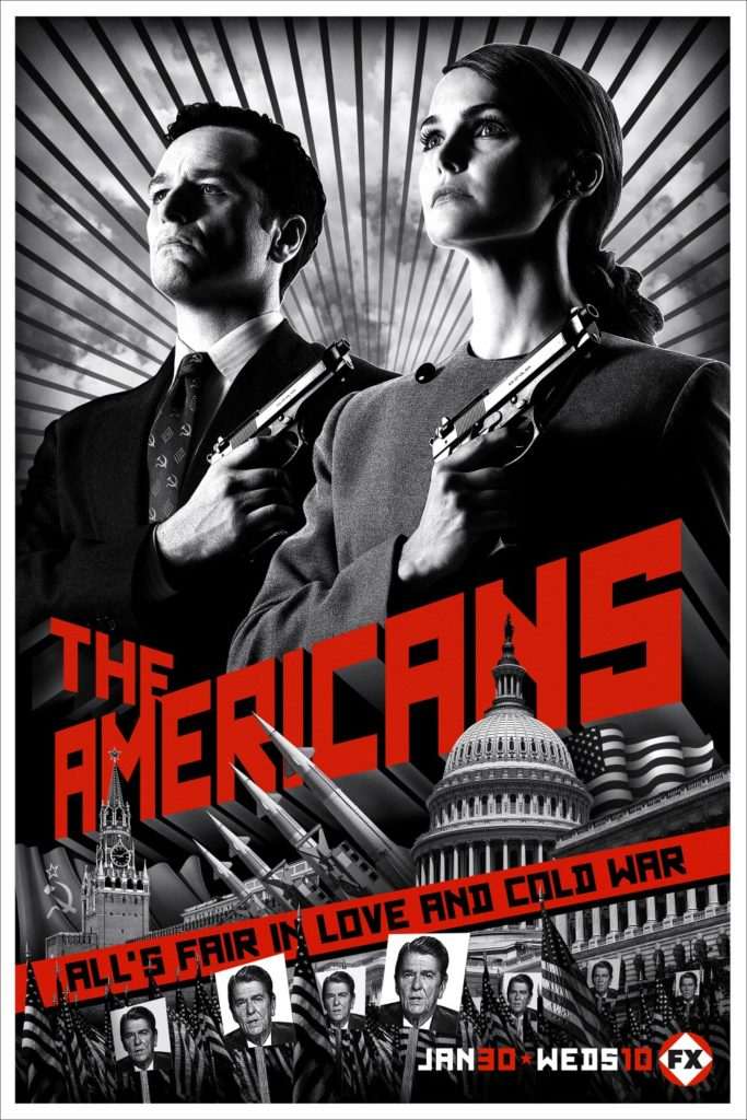The Americans, filmaffisch