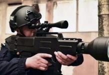 Lasergevär från Chengdu Hengan Police Equipment Manufacturing Company