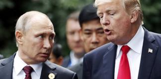 Donald Trump och Vladimir Putin - Foto: Protothema.gr